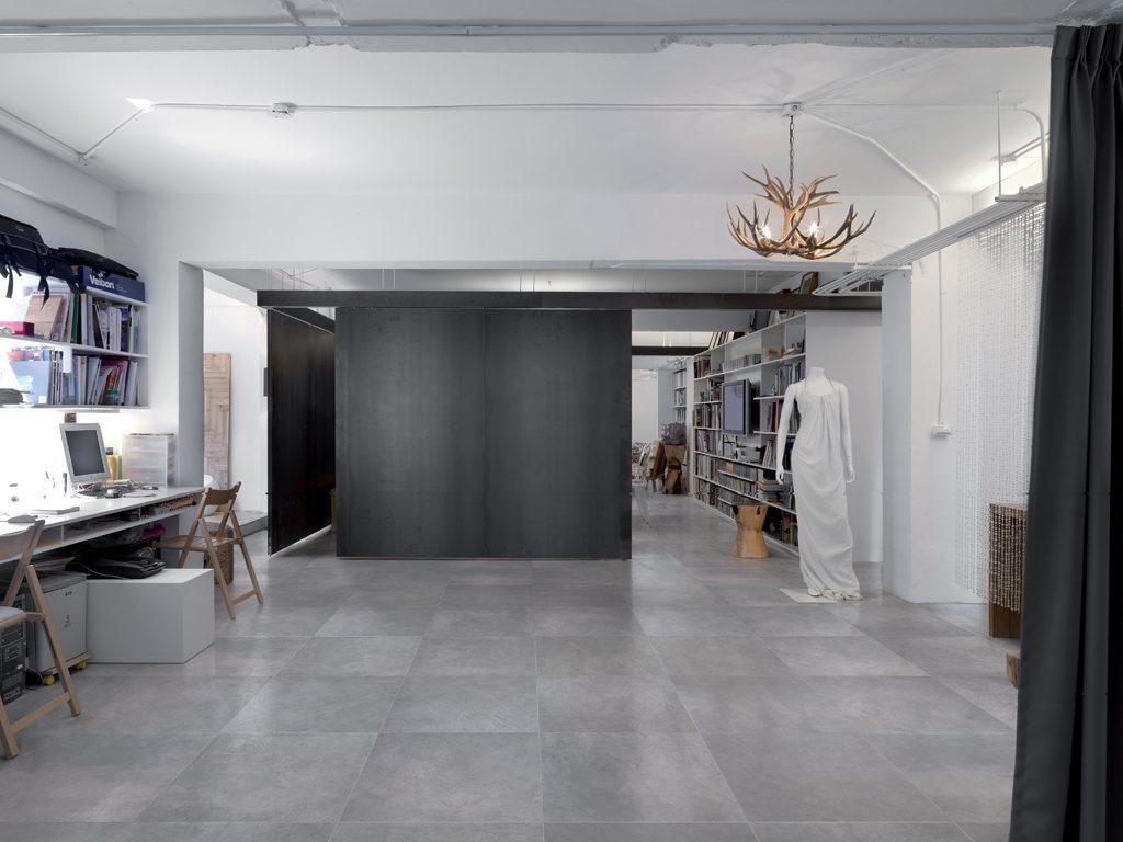 zementfliesen optik aus feinsteinzeug ceramiche refin. Black Bedroom Furniture Sets. Home Design Ideas
